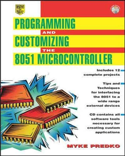 9780071341929: Programming and Customizing the 8051 Microcontroller (Tab Electronics Technician Library)