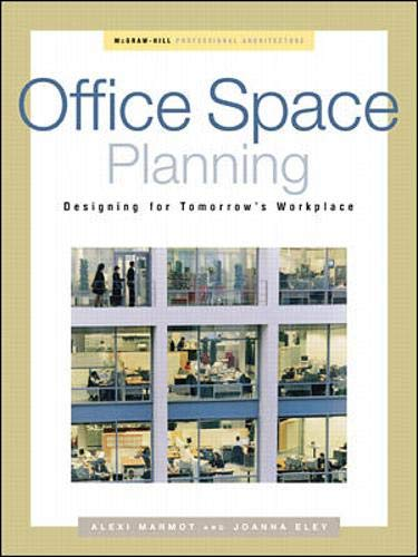 9780071341998: Office Space Planning: Designs for Tomorrow's Workplace (Professional Architecture)