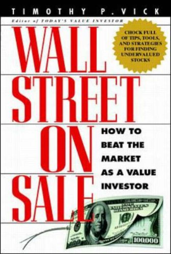 9780071342056: Wall Street on Sale: How to Beat the Market as a Value Investor