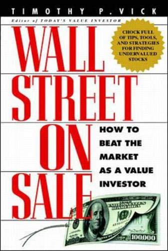 9780071342056: Wall Street On Sale