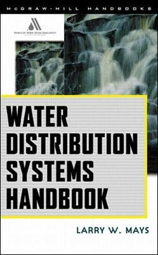 9780071342131: Water Distribution System Handbook
