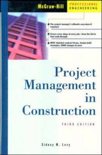9780071342308: Project Management In Construction