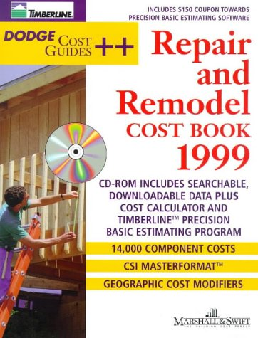9780071342414: Repair & Remodel Cost Book 1999 (Dodge Cost Guides)