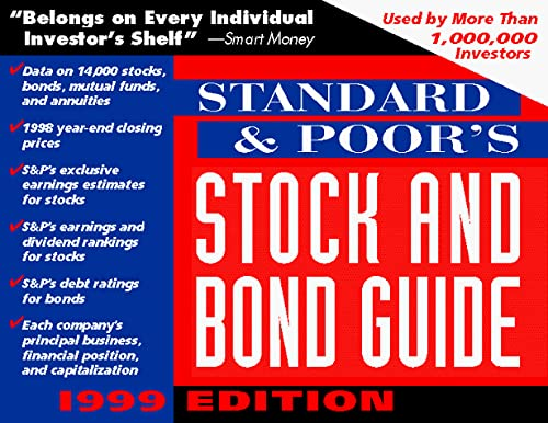 9780071342667: Standard & Poor's Stock and Bond Guide, 1999 (Standard and Poor's Stock and Bond Guide)