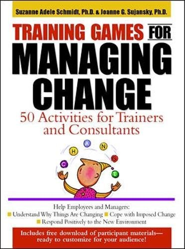 9780071343084: Training Games for Managing Change: 50 Activities for Trainers and Consultants