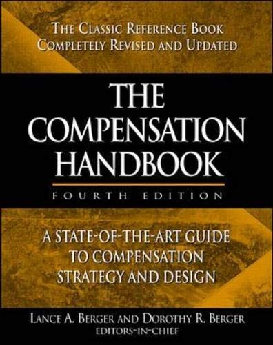 9780071343091: The Compensation Handbook: A State-of-the-art Guide to Compensation Strategy and Design
