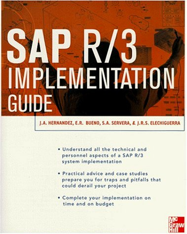 SAP R/3 Implementation: Hernandez, Jose Antonio,