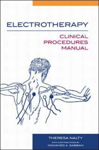 9780071343176: Electrotherapy: Clinical Procedures Manual
