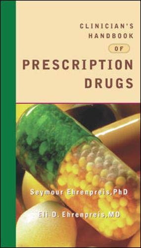 9780071343855: Clinician's Handbook of Prescription Drugs