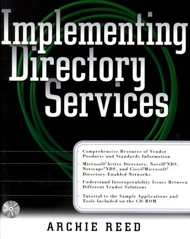 9780071344081: Implementing Directory Services