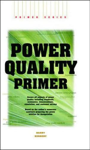 9780071344166: Power Quality Primer (Electrical Engineering Primer)