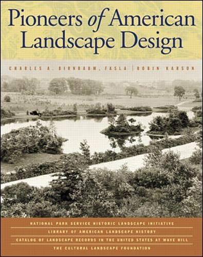 9780071344203: Pioneers of American Landscape Design (Professional Architecture)