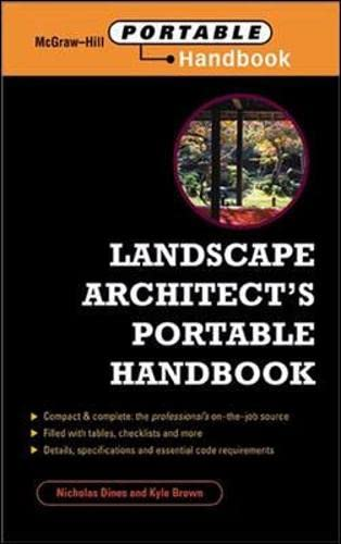 9780071344227: Landscape Architect's Portable Handbook