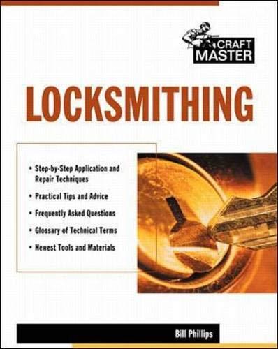 9780071344364: Locksmithing