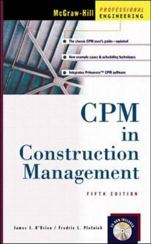 9780071344401: CPM In Construction Management