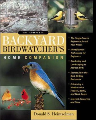 9780071345200: The Complete Backyard Birdwatcher's Home Companion