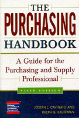 9780071345262: The Purchasing Handbook: A Guide for the Purchasing and Supply Professional