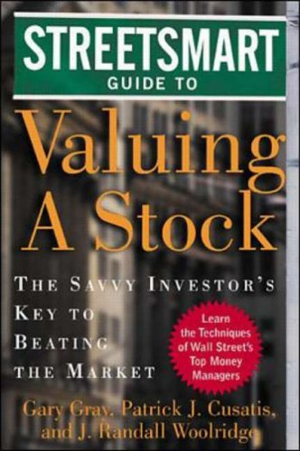 9780071345279: Streetsmart Guide to Valuing a Stock: The Savvy Investor's Key to Beating the Market (Streetsmart Guides)