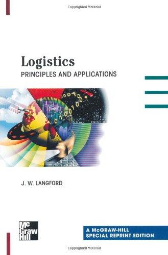 9780071345293: Logistics: Principles and Applications, Special Reprint Edition