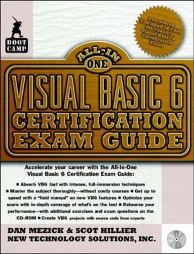 9780071345347: Visual Basic 6 Certification Exam Guide (Bootcamp All-in-one Certification)