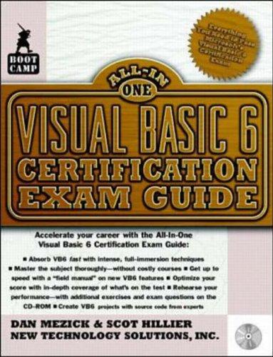 9780071345347: Visual Basic 6 Certification Exam Guide
