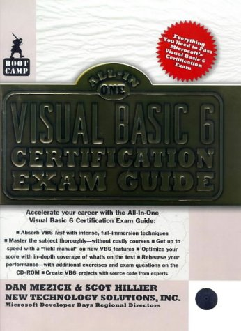 9780071345347: Visual Basic 6 Certification Exam Guide