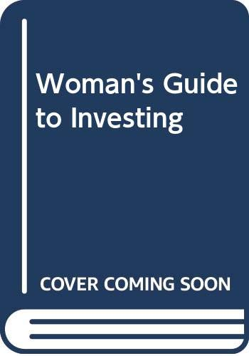 9780071345460: Woman's Guide to Investing