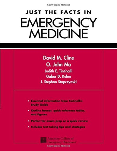 9780071345491: Just the Facts in Emergency Medicine