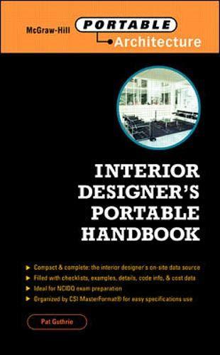 Interior Designer's Portable Handbook: Pat Guthrie, Pat