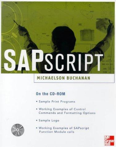 9780071346184: SAPscript
