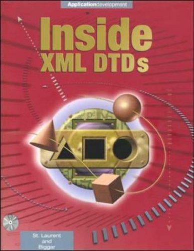 9780071346214: Inside XML DTD's: Scientific and Technical Complete Handbook (Enterprise Computing)
