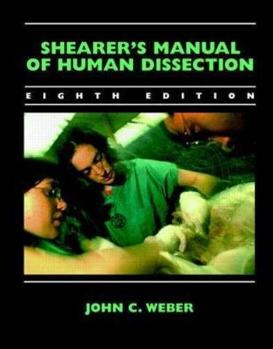 9780071346245: Shearer's Manual of Human Dissection