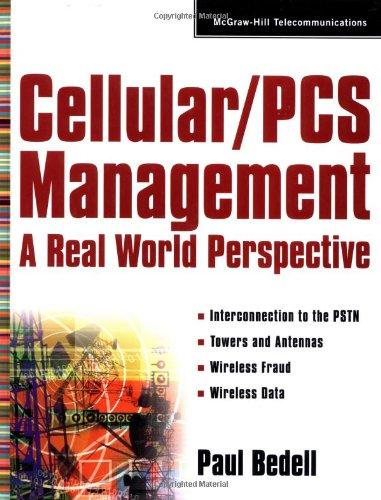 9780071346450: Cellular/PCs Management