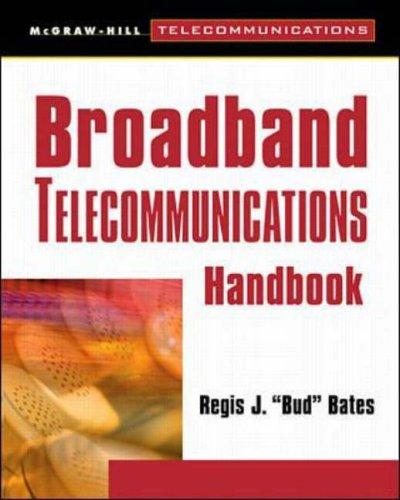 9780071346481: Broadband Telecommunications Handbook (McGraw-Hill Telecommunications)