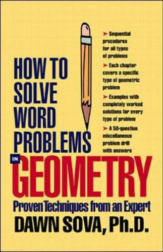 9780071346528: How to Solve Word Problems in Geometry (How to Solve Word Problems Series)