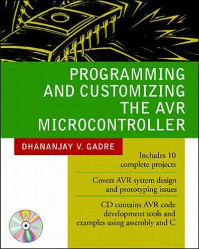 9780071346665: Programming and Customizing the AVR Microcontroller (Electronics)