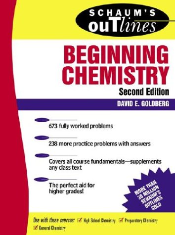 9780071346696: Schaum's Outlines of Beginning Chemistry