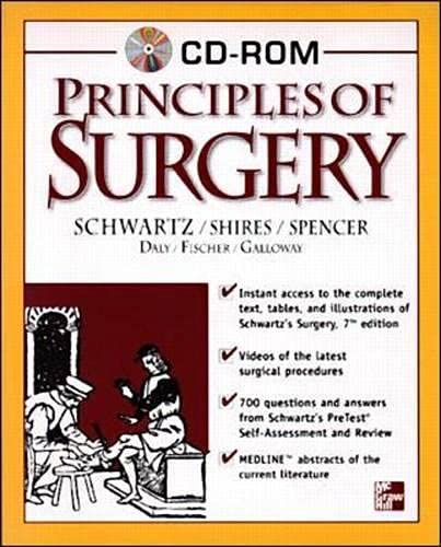 9780071346801: Principles of Surgery CD-ROM