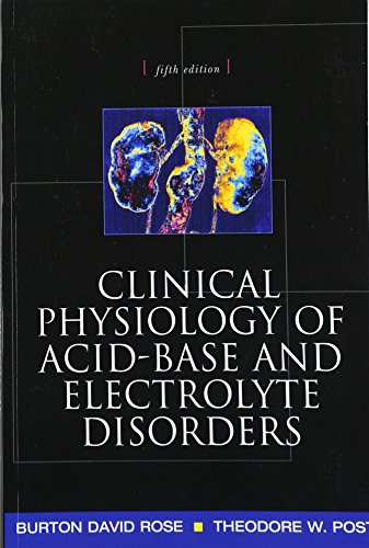 9780071346825: Clinical Physiology of Acid-Base and Electrolyte Disorders (Internal Medicine)
