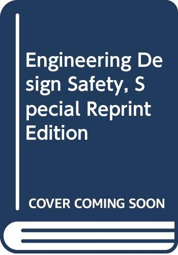 9780071346887: Engineering Design Safety, Special Reprint Edition
