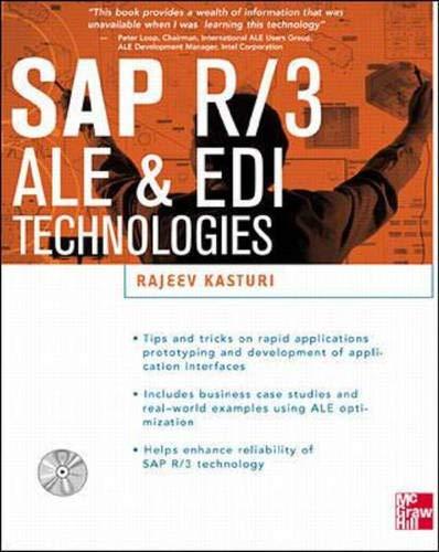 9780071347303: Sap R/3 Ale & Edi Technologies (Sap Technical Expert Series)