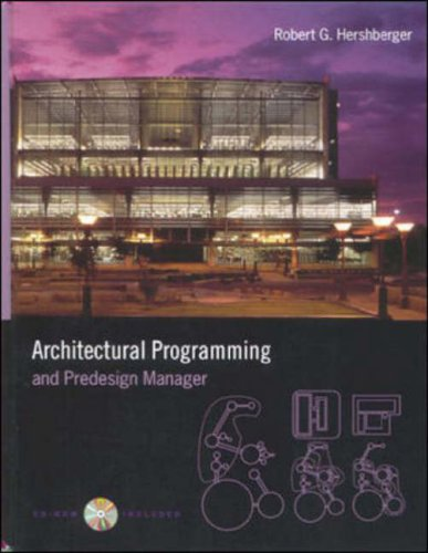 9780071347495: Architectural Programming and Predesign Manager