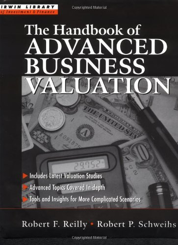 9780071347693: The Handbook of Advanced Business Valuation (Irwin Library of Investment & Finance)