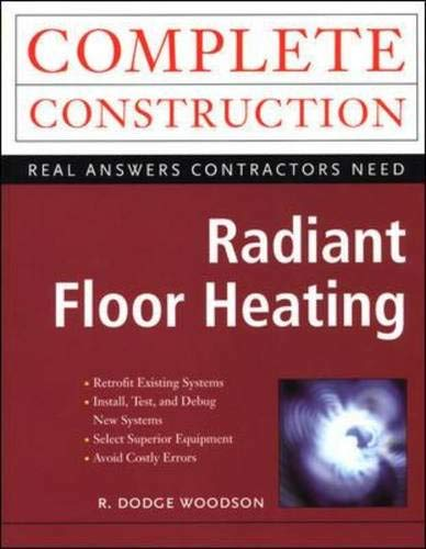 9780071347860: Radiant Floor Heating