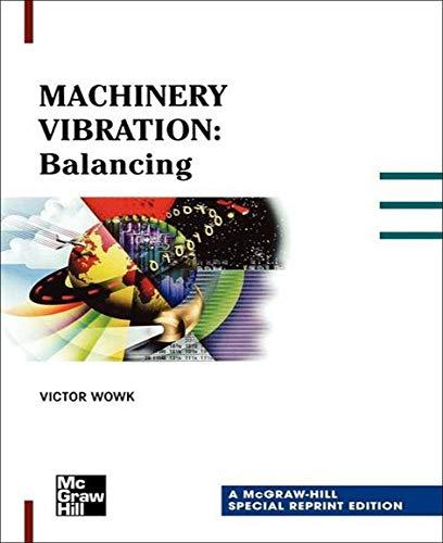 9780071348614: Machinery Vibration: Balancing, Special Reprint Edition