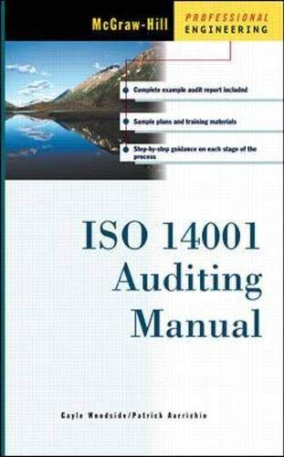 9780071349079: ISO 14001 Auditing Manual (McGraw-Hill Professional Engineering)