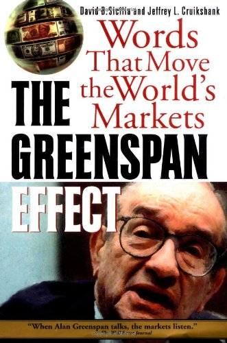9780071349192: The Greenspan Effect: Words That Move the World's Markets