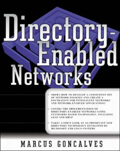 9780071349512: Directory-enabled Networks (Networking Series)
