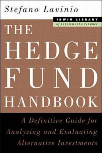 9780071350303: The Hedge Fund Handbook: A Definitive Guide for Analyzing and Evlaluating Alternative Investments