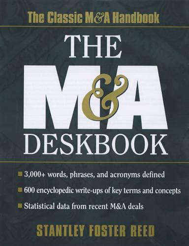9780071351270: The M&A Deskbook
